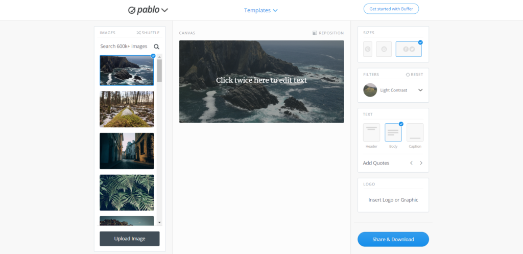free tools for creating social media post